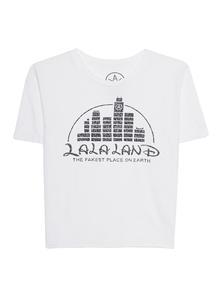 LOCAL AUTHORITY L.A. La La Land Crop White