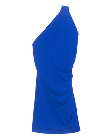 Plein Sud One Shoulder Royal Blue