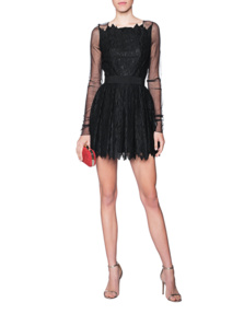 Plein Sud Lace Cocktail Black