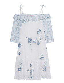 SEE BY CHLOÉ Dotty Flower Off White
