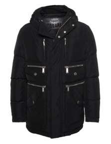 DSQUARED2 Down Zip Black