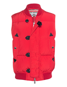 DSQUARED2 Outdoor Down Red