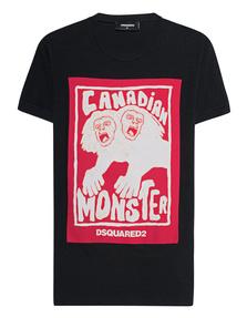 DSQUARED2 Canadian Monster Black