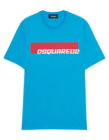 DSQUARED2 Logo New Turquoise