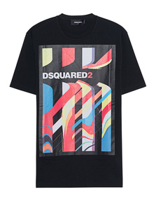 DSQUARED2 Letter Print Black