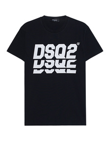 "DSQUARED2 DSQ"" Print Black"