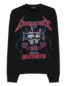DSQUARED2 Skull Sweater Black