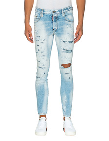 DSQUARED2 D-Squared H-Jeans Skater Light Piranha