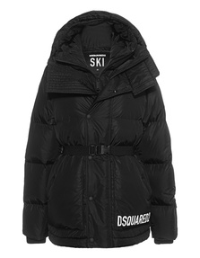 DSQUARED2 Puffer Logo Black