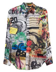 DSQUARED2 Edna Silk Multicolor