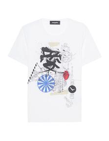 DSQUARED2 Liza Fit Japan White