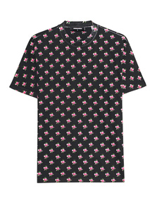 DSQUARED2 Flower Print Black