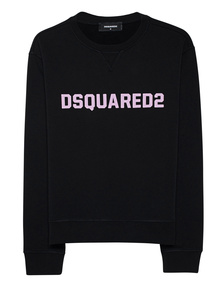 DSQUARED2 Label Print Black