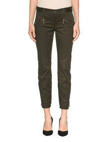 DSQUARED2 Biker Zipper Green Olive