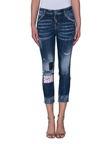 DSQUARED2 Cool Girl Crop Flower Patch