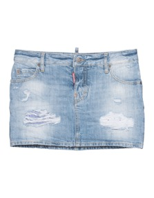 DSQUARED2 Jeans Patch Light Blue