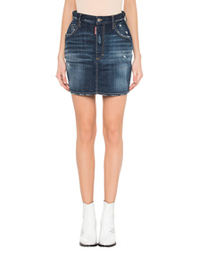 DSQUARED2 Denim Skirt Blue