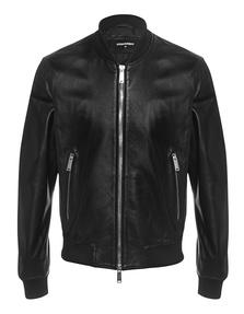 DSQUARED2 Leather Basic Black