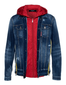 DSQUARED2 Hood Red Denim