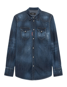 DSQUARED2 Washed Out Blue