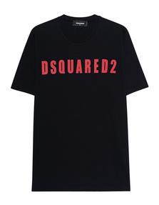 DSQUARED2 Logo DSQ Oversized Black