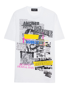DSQUARED2 Glam Punk White