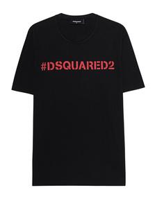 DSQUARED2 Hashtag Oversized Black