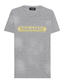 DSQUARED2 Destroyed Shirt Grey