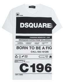DSQUARED2 Allover Wording White
