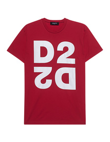 DSQUARED2 D2 Wording Red