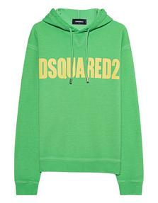 DSQUARED2 Logo Neon Green