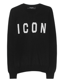DSQUARED2 Icon Knit Black