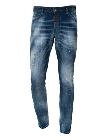 DSQUARED2 Sexy Twist Jean Blue