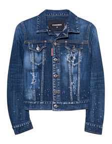 DSQUARED2 Basic Denim Jacket Blue