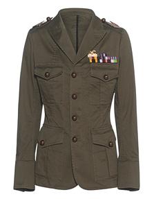 DSQUARED2 Blazer Military Oliv
