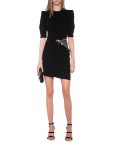 DSQUARED2 Zipper Dress Black