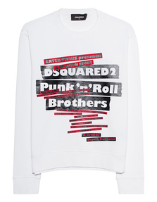 DSQUARED2 Sweatshirt Punk White