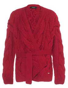 DSQUARED2 Coarse Knit Red