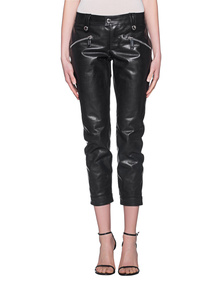 DSQUARED2 Biker Leather Black