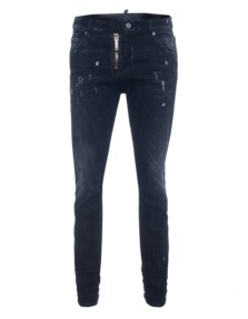 DSQUARED2 Cool Girl Long Crotch Tight Bottom Black