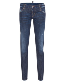 DSQUARED2 Pat Jean Short Crotch Tight Bottom Dark