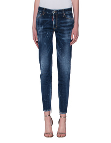 DSQUARED2 Medium Waist Twiggy Jean