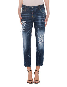 DSQUARED2 Cool Girl Cropped Blue