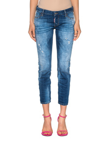 DSQUARED2 Jennifer Crop Blue