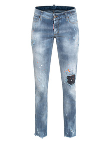 DSQUARED2 Jennifer Jean Skinny Light Blue