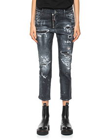 DSQUARED2 Cool Girl Cropped Black
