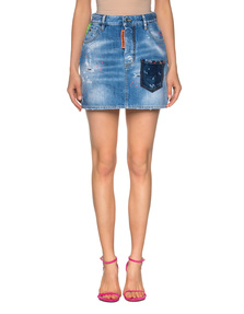 DSQUARED2 Dalma Skirt Blue