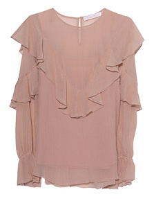 SEE BY CHLOÉ Ruffled Nude