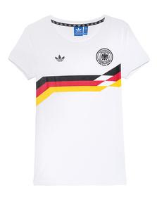 ADIDAS ORIGINALS Germany Tee White