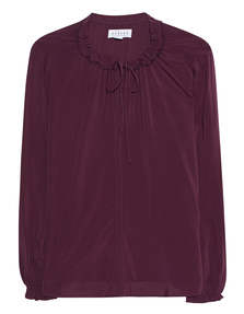 VELVET BY GRAHAM & SPENCER Tunic Plum